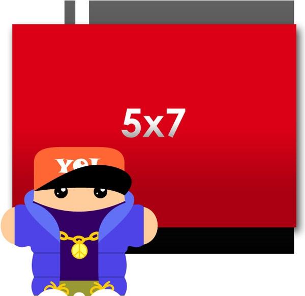 Flyers: 5 x 7